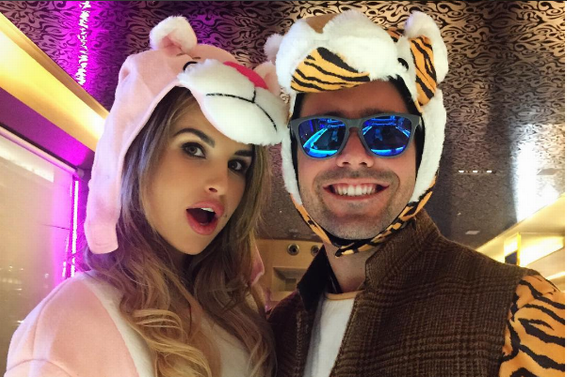It's official! Irish TV star Vogue Williams is dating Made in Chelsea's Spencer Matthews