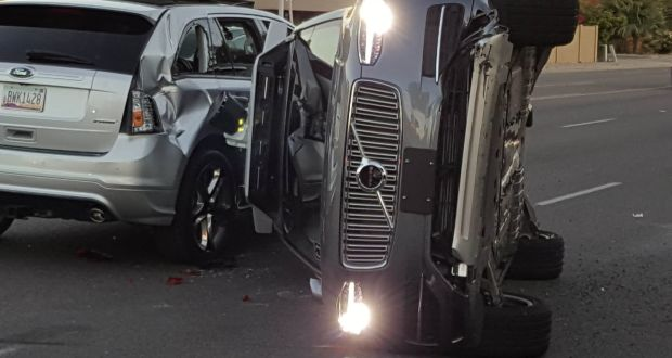 Uber removes fleet of self-driving cars after Arizona crash