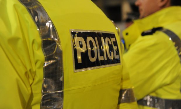A 40-year-old woman has been arrested after a three car smash near Perth.